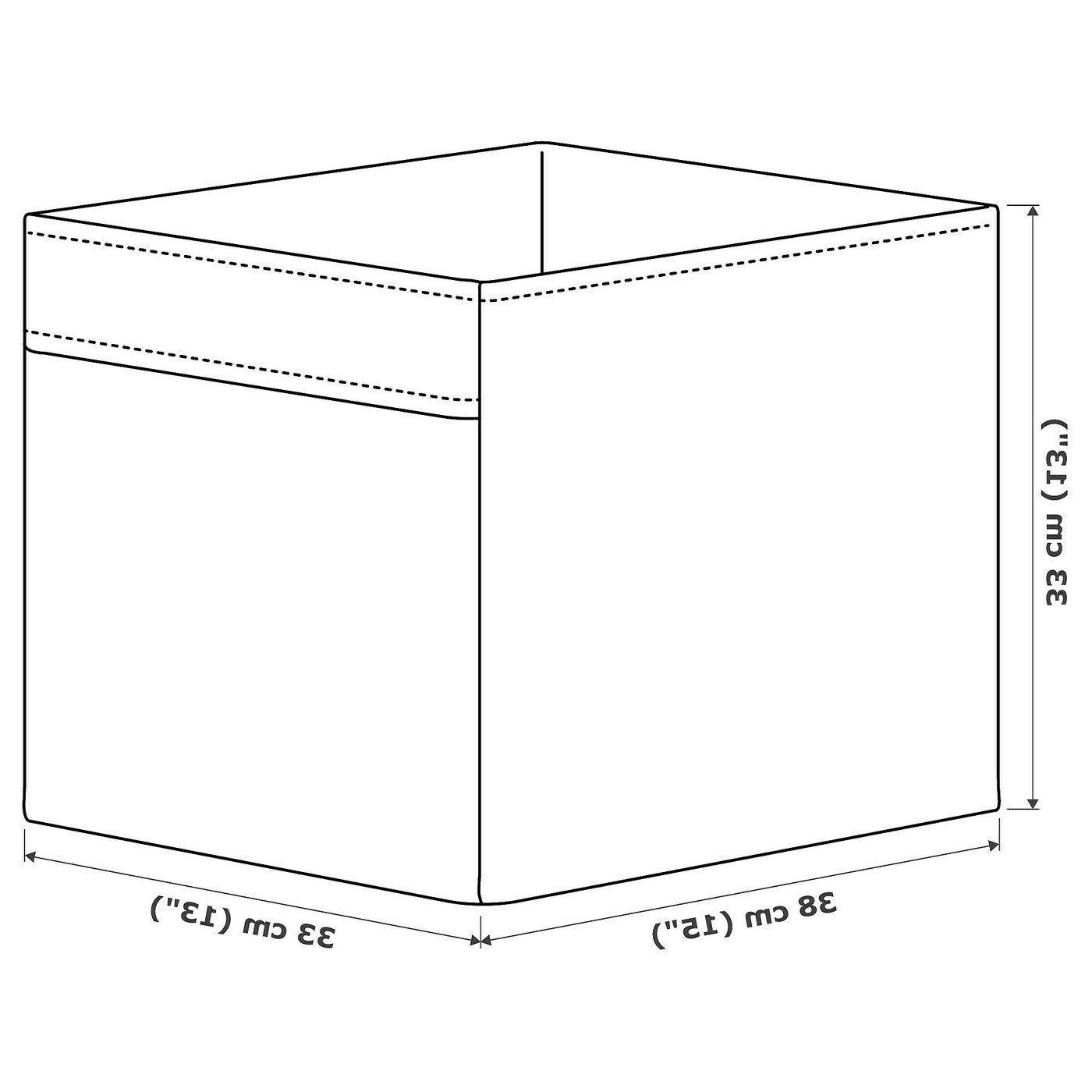 """SET of 4 Ikea Box fits Expedit 13x15x13"""" Purple -"""