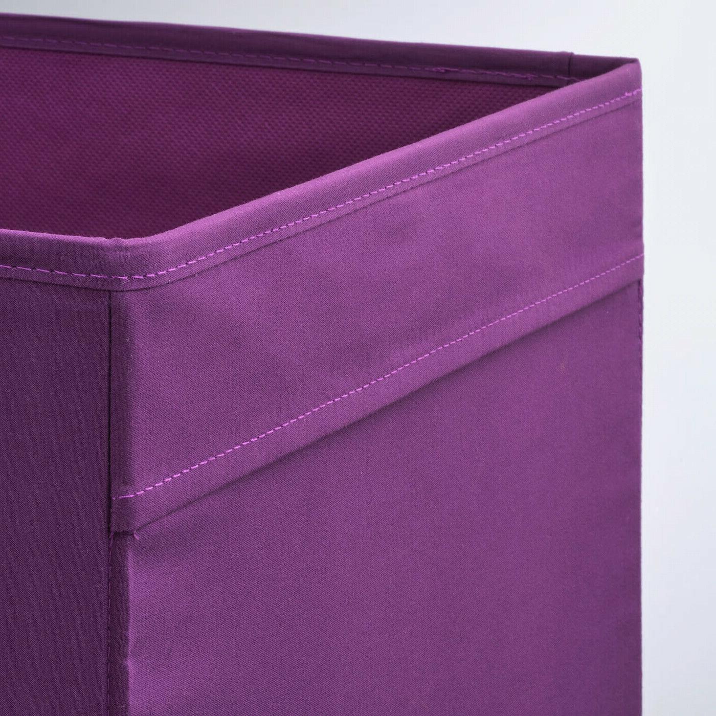 SET - Ikea DRONA Storage fits Purple