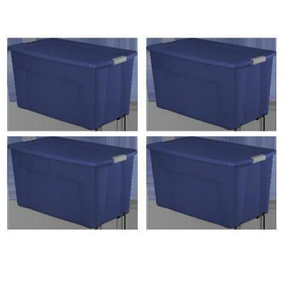 set of 4 tote storage box wheeled