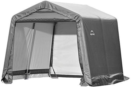 ShelterLogic 6' x Shed-in-a-Box All Season Metal Storage with Cover and Duty Reusable