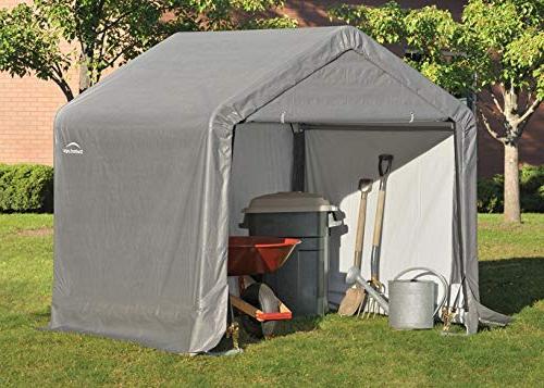ShelterLogic 6' Metal Peak Storage Cover Duty Reusable