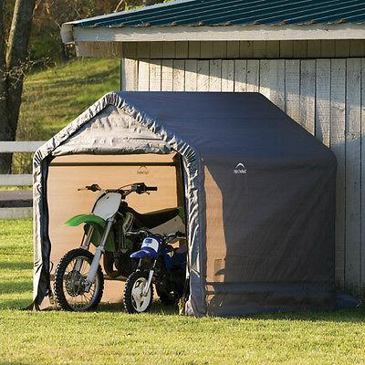 ShelterLogic 6' Shed-in-a-Box Storage Shed with Cover Heavy Duty