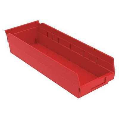 Shelf Bin, 17-7/8 In. L,6-5/8 In. W,4 In H AKRO-MILS 30138RE