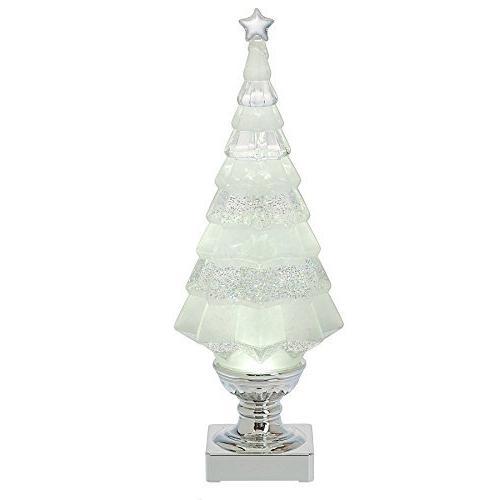 shimmer christmas tree clear light