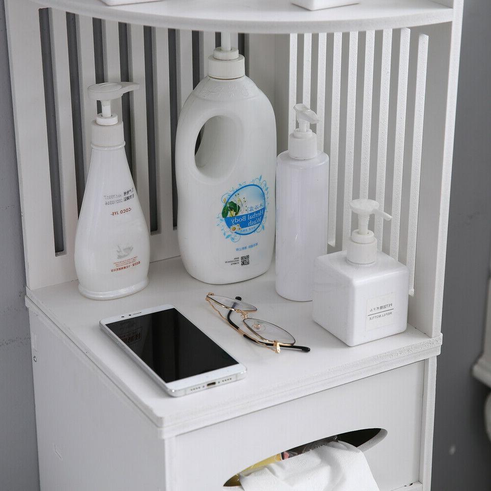Simple Bathroom Cabinet Storage Paper