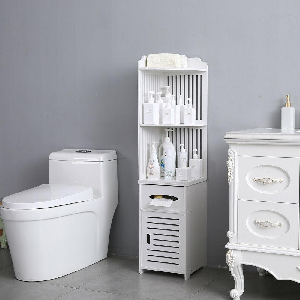 Simple Cabinet Storage Paper Holder White