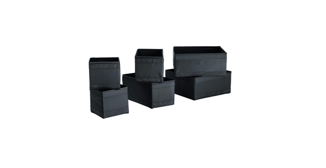 IKEA SKUBB Storage Box Drawer Organizer Set of 6 CHOOSE COLO