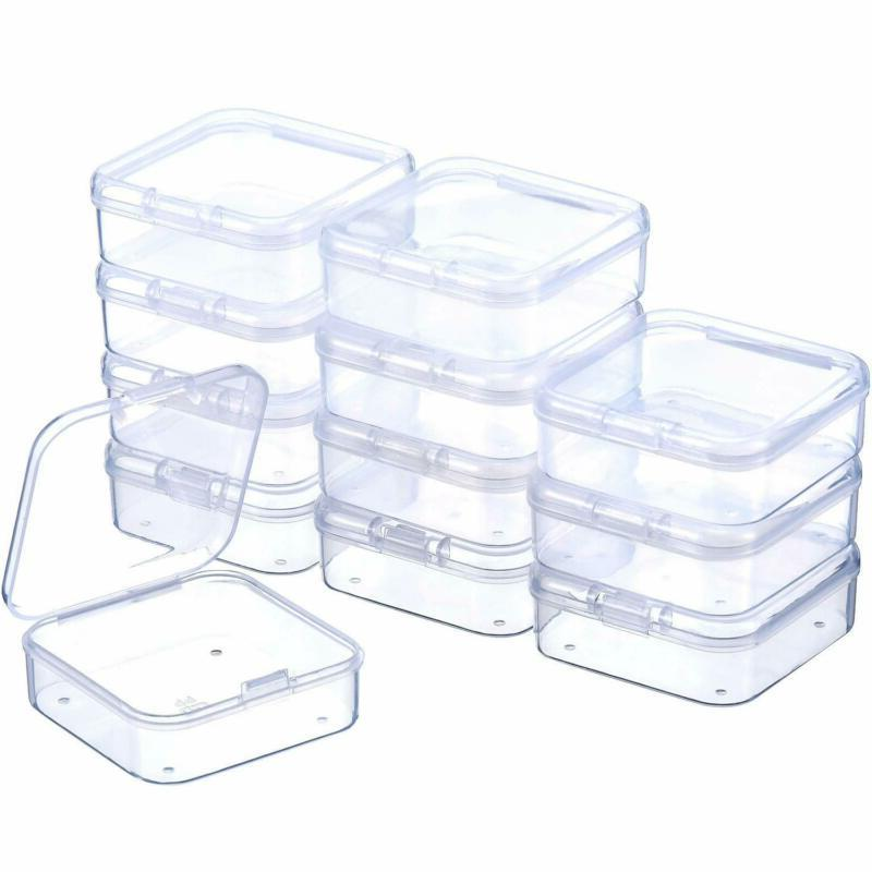 Small Rectangle Lightweight With Hinged Lid