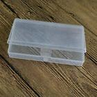 1 x New Small Plastic Transparent With Lid Collection Contai