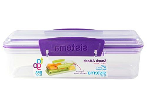 Sistema Two compartments Lunch Container,