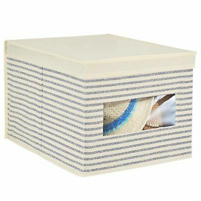mDesign Soft Storage - Natural/Cobalt