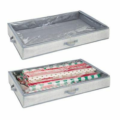 soft fabric gift wrap storage
