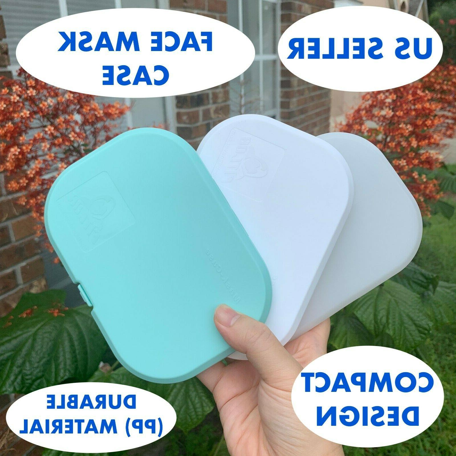soft tpu face mask carrying case box