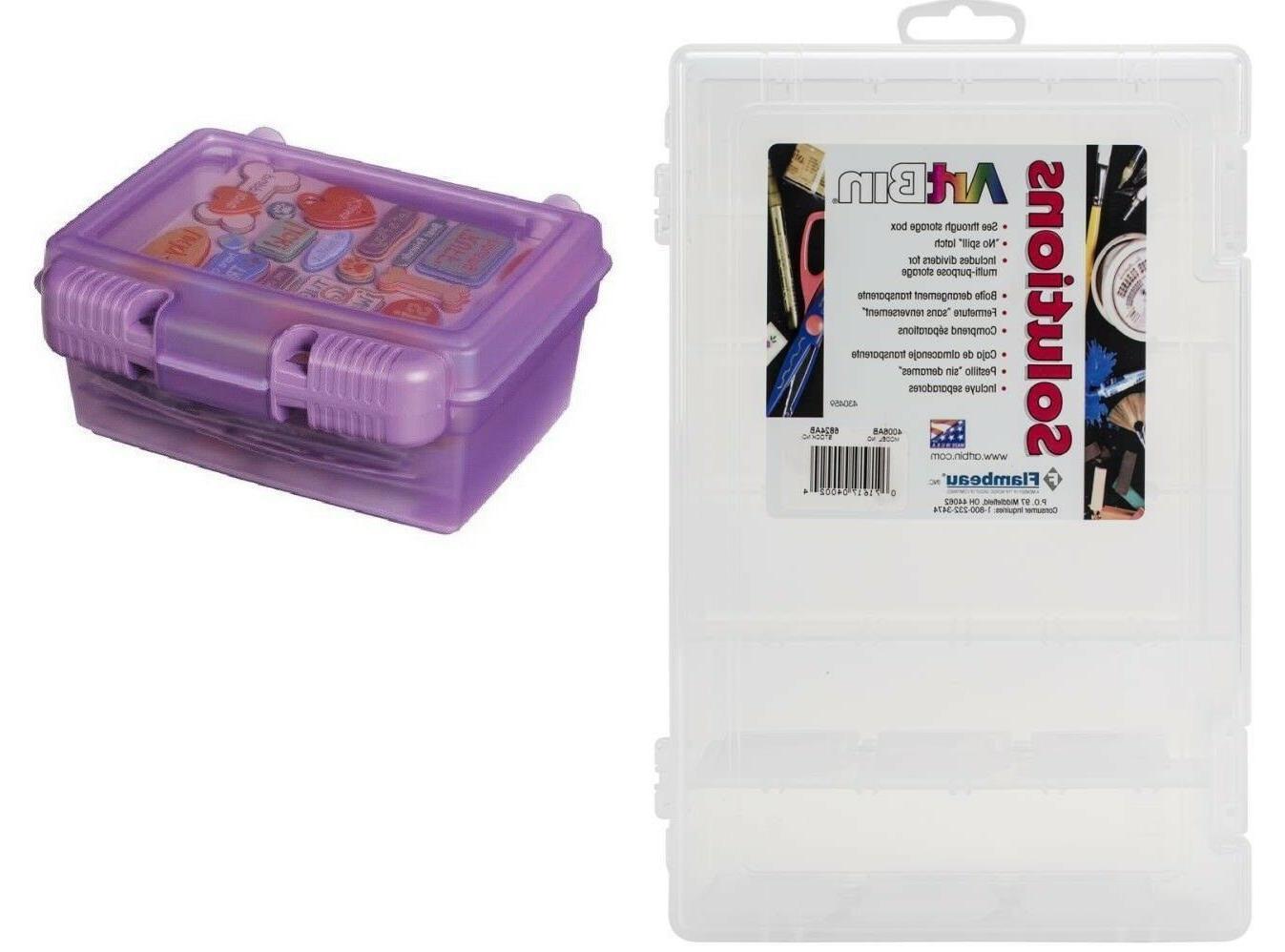 solutions box organizer for crafts school supplies