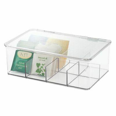 mDesign Bag Organizer Box