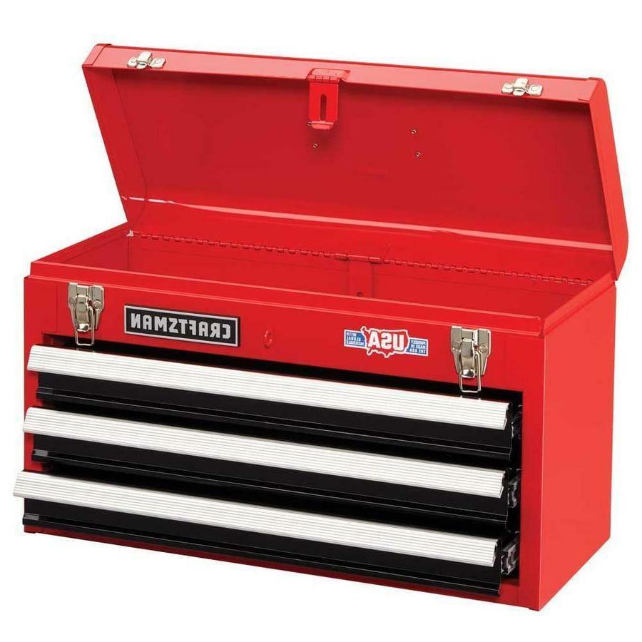 Steel Storage Box Cabinet Drawer RED