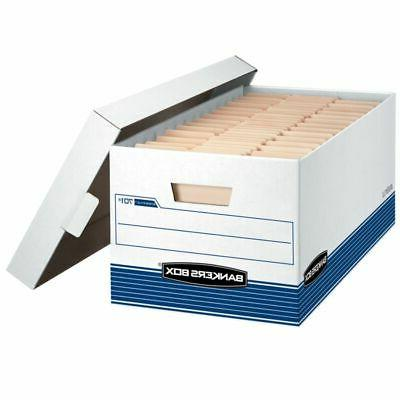 Bankers Stor/File™ Recycled Storage Boxes, Lid,
