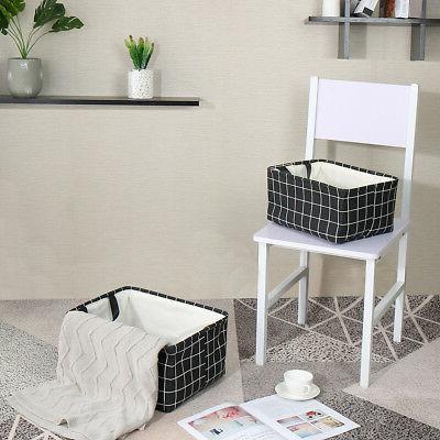 Storage Shelves Laundry Box Organizer w/ Drawstring