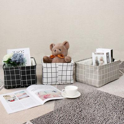 Storage Baskets Bins for Shelves Toy Laundry Box Organizer w