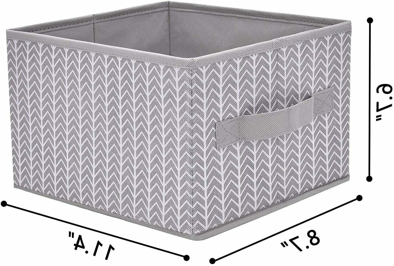 Storage Bin Shelves, Fabric Organizer Cube