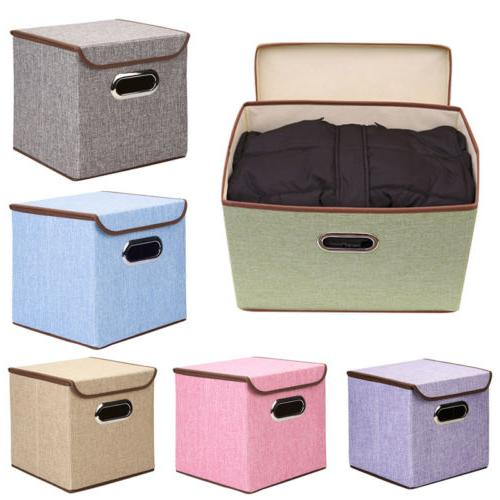 Storage Cube Box Drawer Container Cover