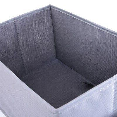 Storage Bins, Three Foldable Storage without Set