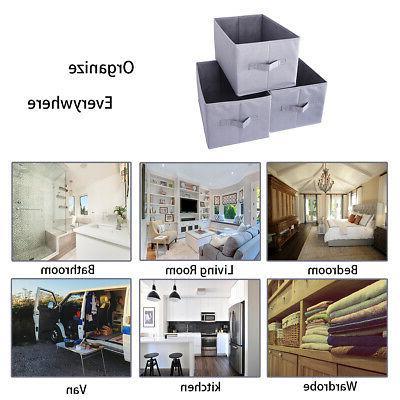 Storage Bins, Set of Three without Set