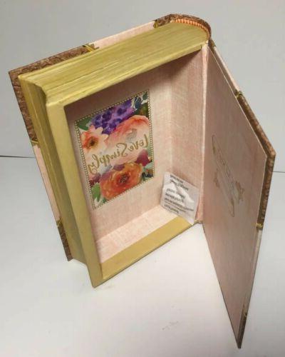 Storage Book Box Ashland Spring Love Deeply Decorative Acc New