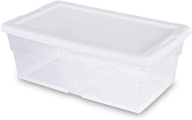 Sterilite Storage X 8.3Quot; 6 Clear =