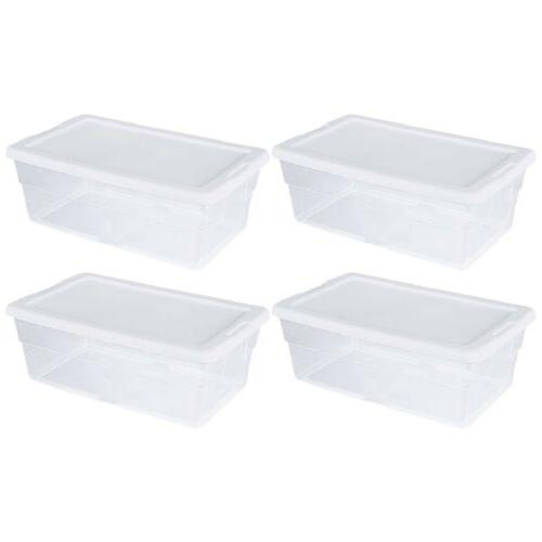 storage box 1642 6 quart container stacks