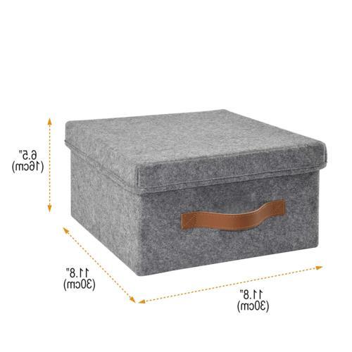 ITIDY Storage-Box, 2pk Soft Bins with Lids,