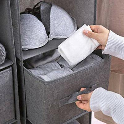 1X Hanging Storage Drawer Shoes Waterproof US