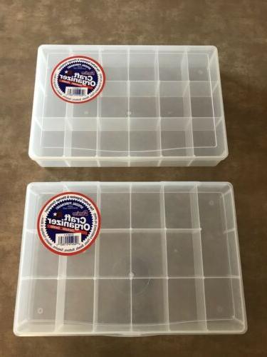 storage box organizer bead craft screws nuts