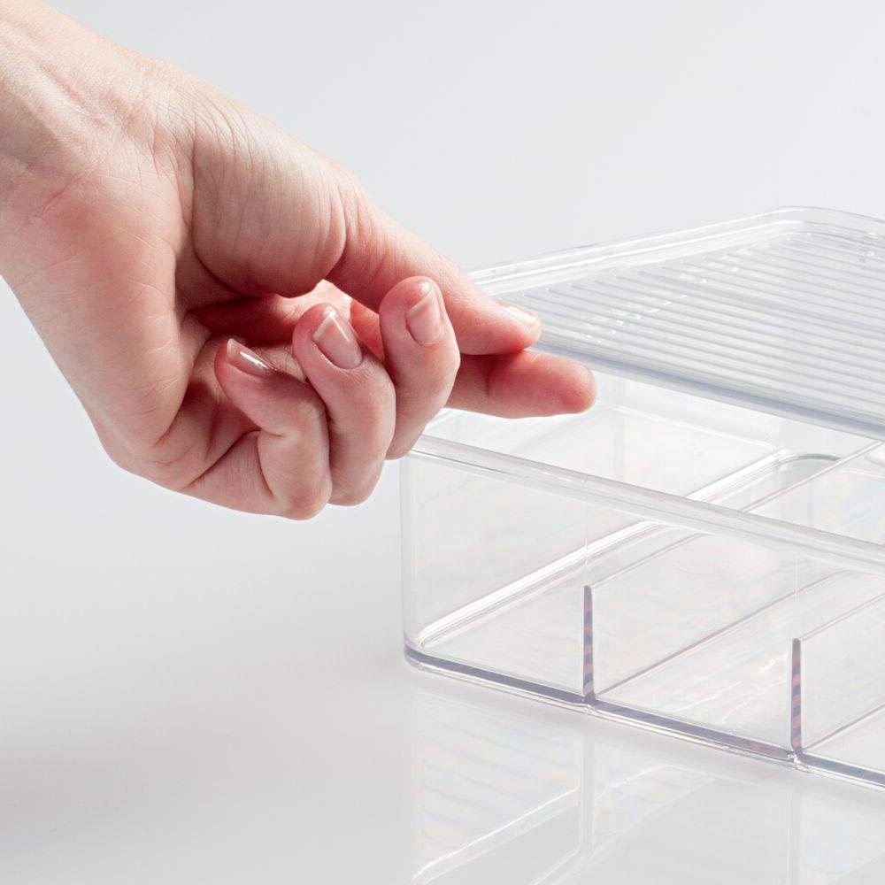 mDesign Storage Organizer for First Aid Kit, Medicine, Dental