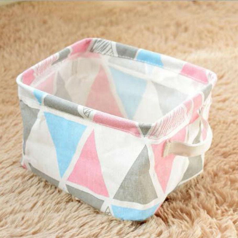 Desktop Cosmetic Organizer Basket Bag Box US