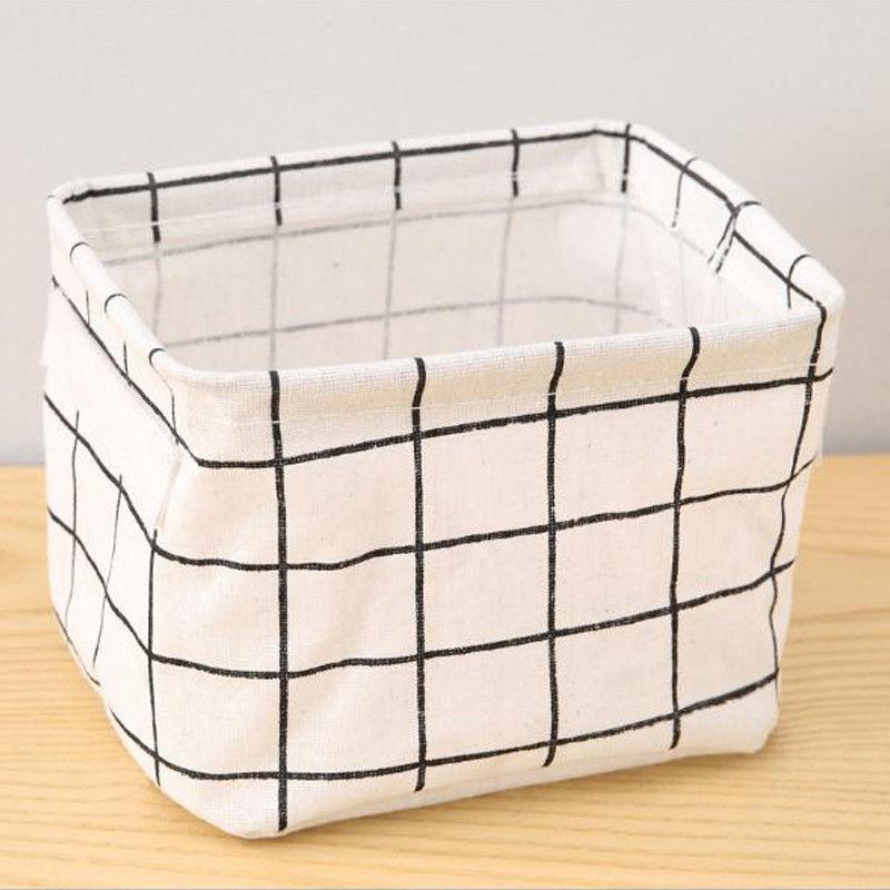 Canvas Desktop Basket Bag US