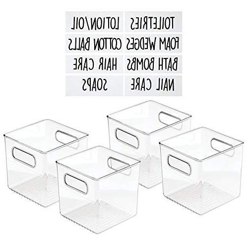 storage container bin set