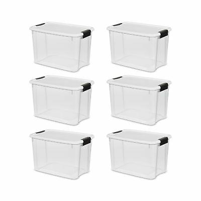 storage container plastic latching case