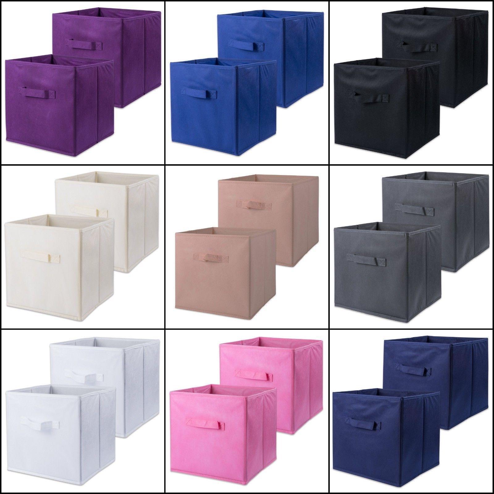 storage cube organizer box container bin basket