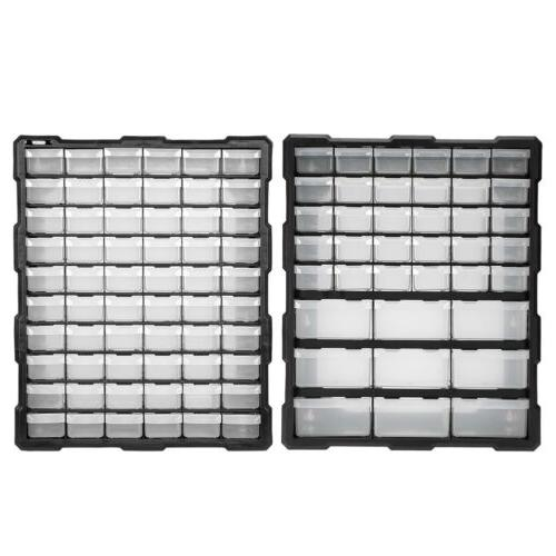 Storage Organizer Cabinet Plastic 39/60 Drawer Hardware Bin Toy