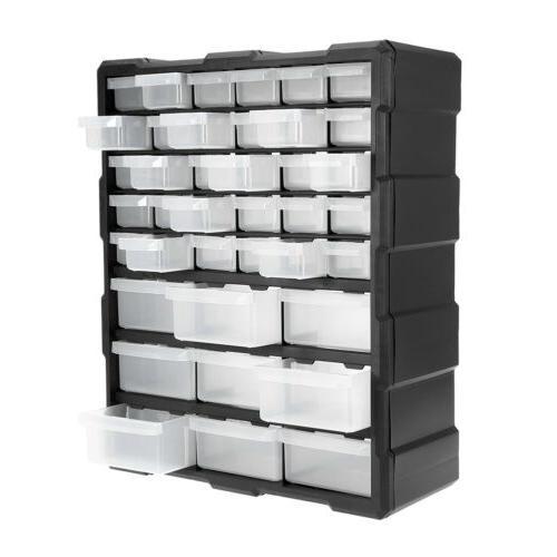 Storage Organizer Plastic 39/60 Bin Toy Garage