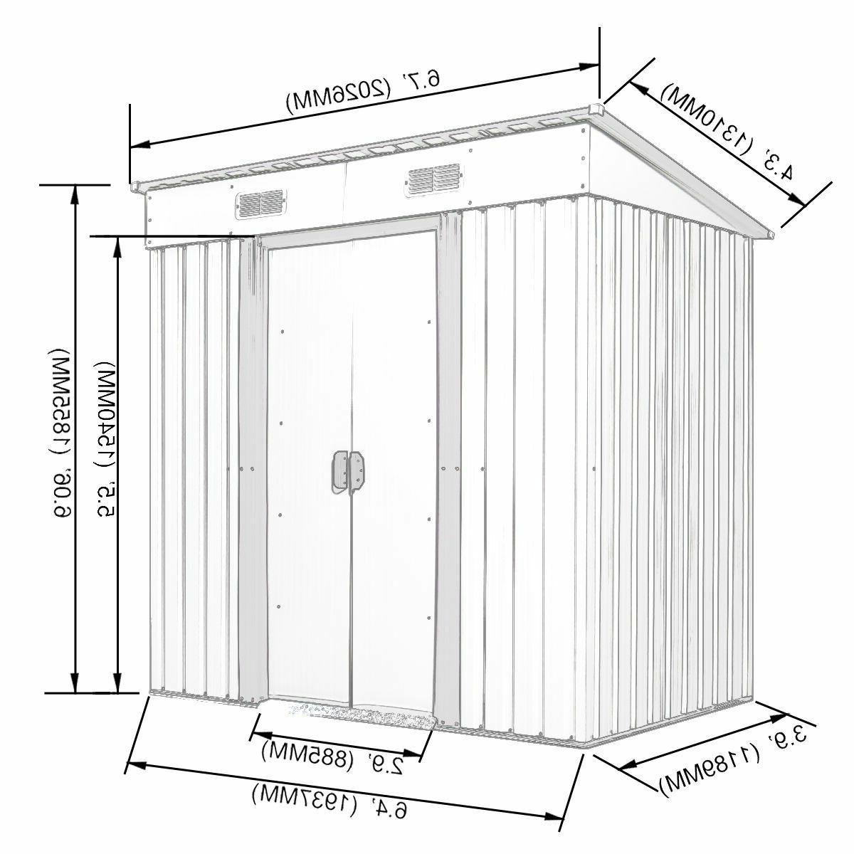 Storage Box Utility Tool Backyard Lawn Garage