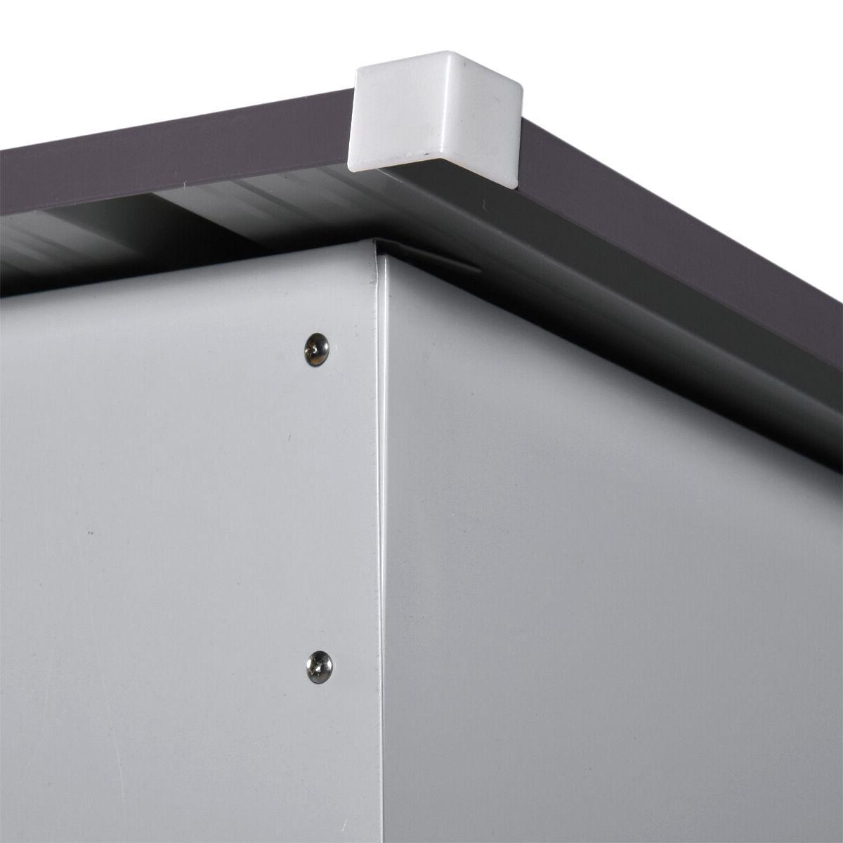 4' x Storage Shed Box Steel Utility Lawn