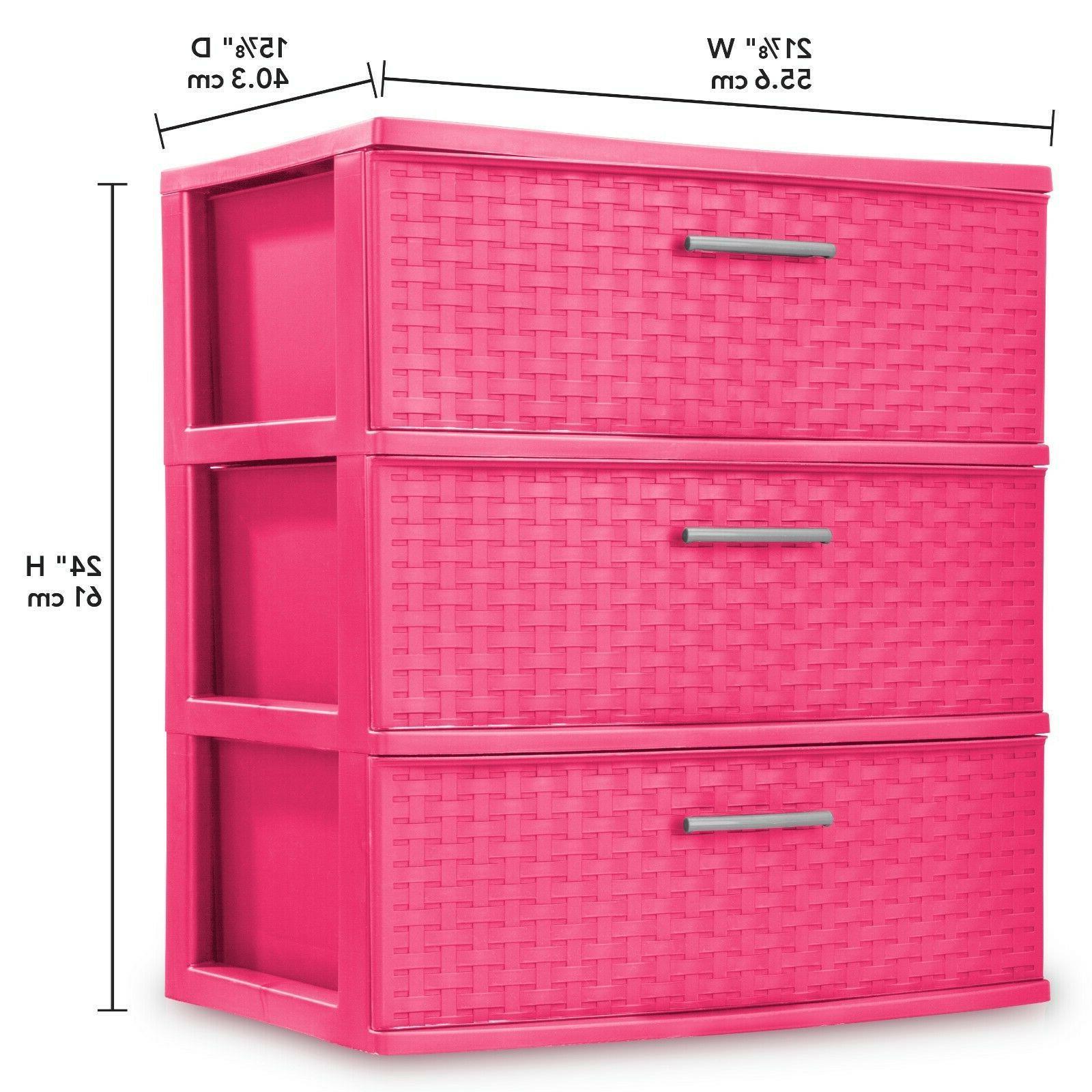 Storage 3 Plastic Box