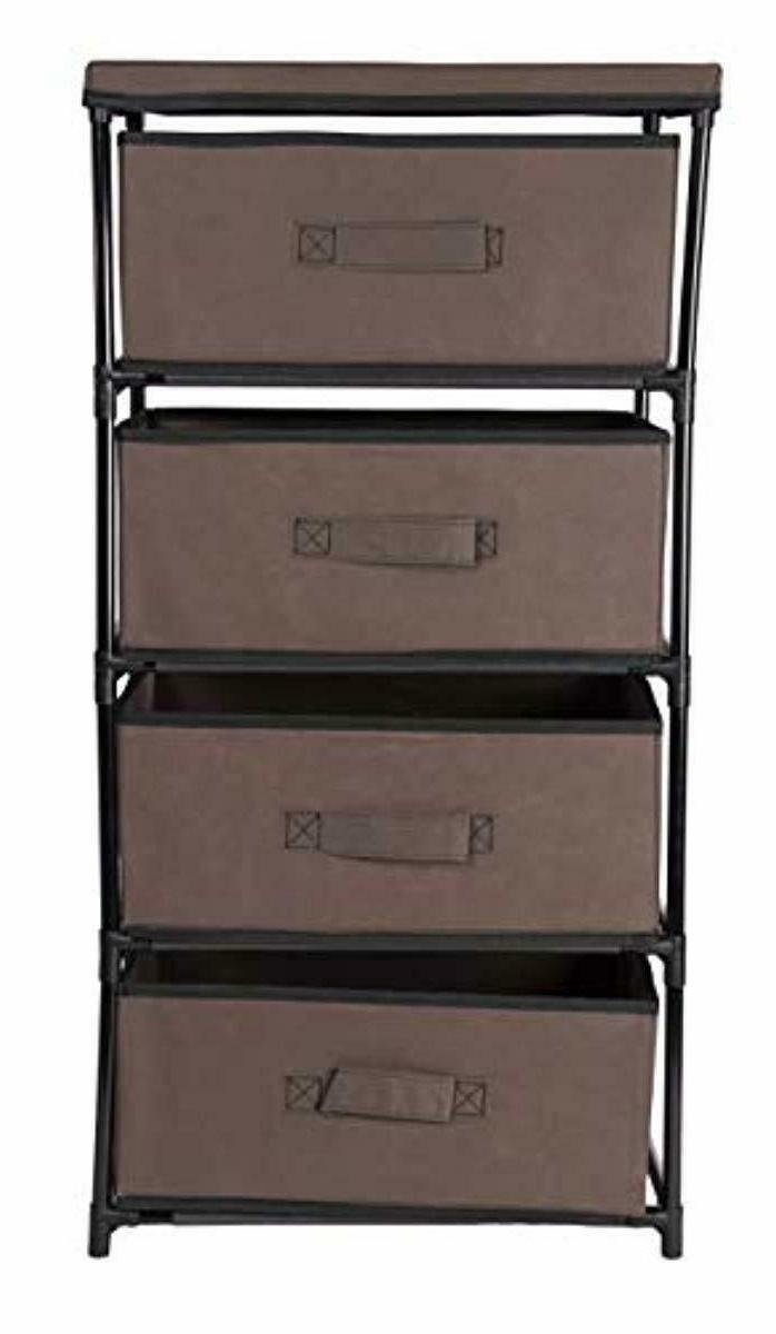 Storage 4 Bin Cabinet Box New