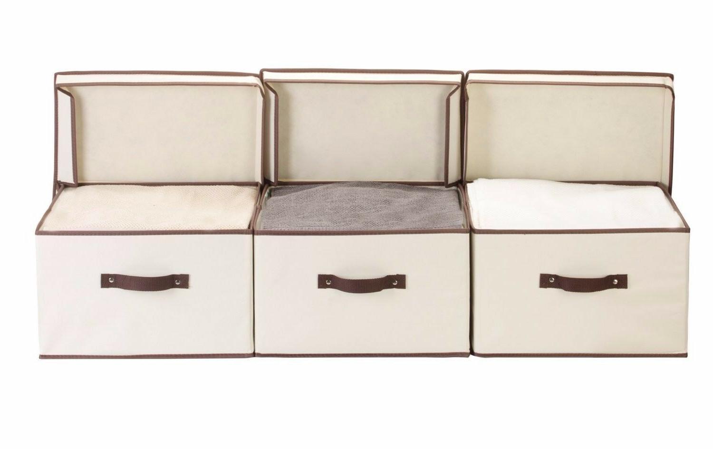 StorageWorks Polyester Storage Box Foldable