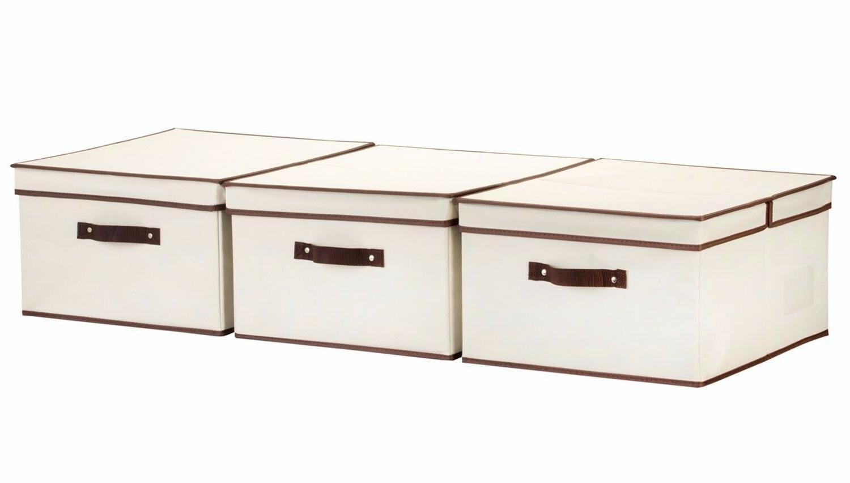 StorageWorks Polyester Box Lid, Foldable Closet Organizer, N