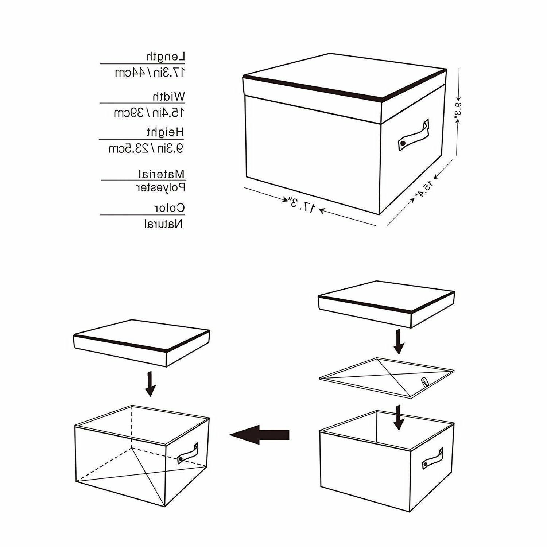 StorageWorks Box Foldable Closet