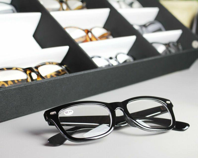 Juvale Storage Slot Sunglass Box For Eyeglasses And