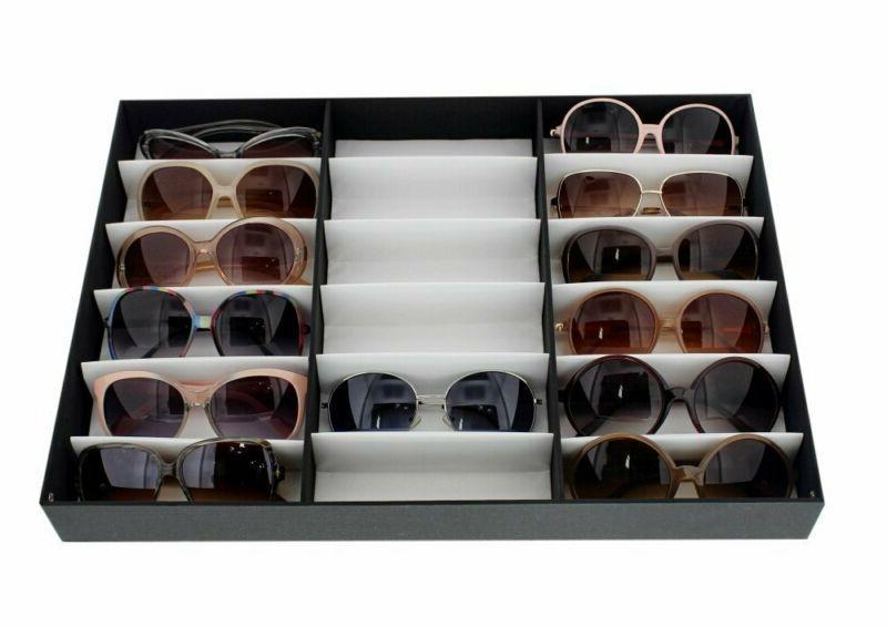 Juvale Sunglass Storage Sunglass Box And